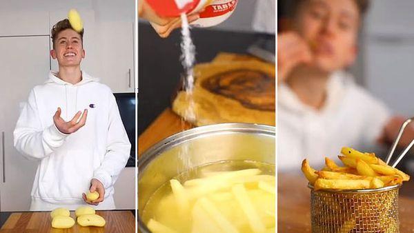 Morgan Hipworth French fries tutorial