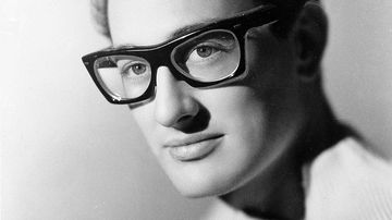 Buddy Holly died in a plane crash in 1959.