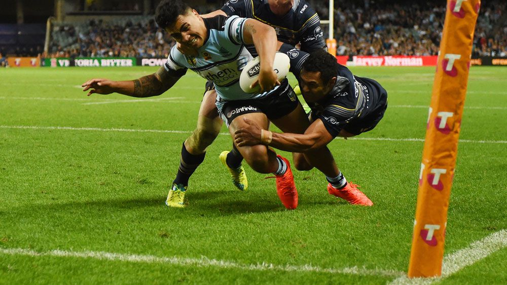 Sosaia Feki will be with the Sharks for the next three years. (AAP)