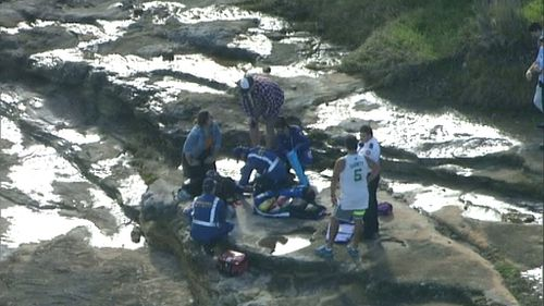 Woman injured after falling onto rocks near beach in Sydney's east