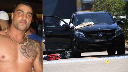 Mick Hawi was shot dead as he sat in his Mercedes. (AAP)