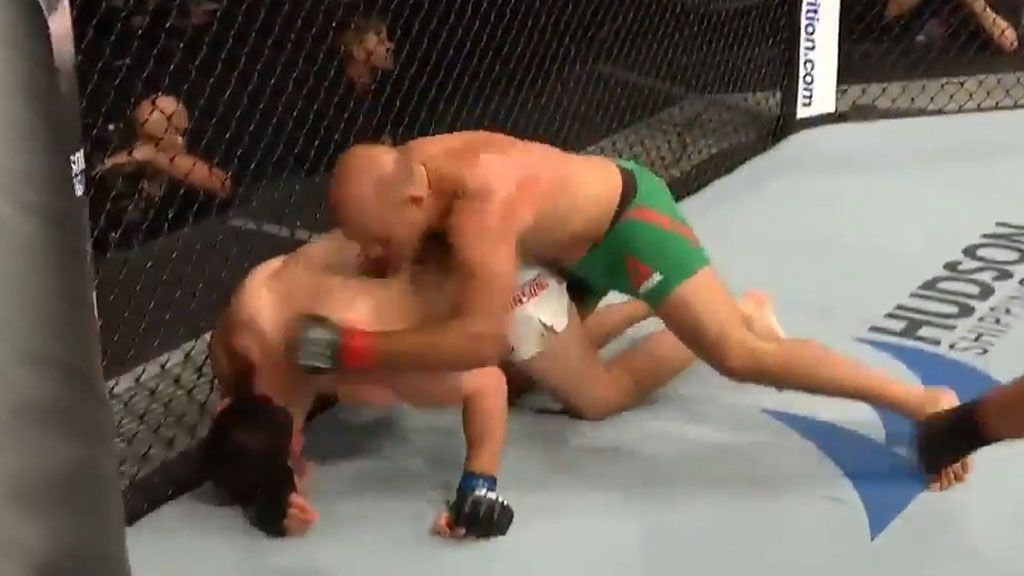 Aussie UFC debutant pummelled