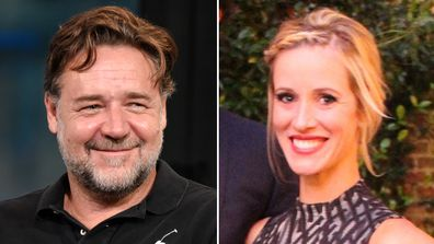 Russell Crowe, rumoured girlfriend, Britney Theriot