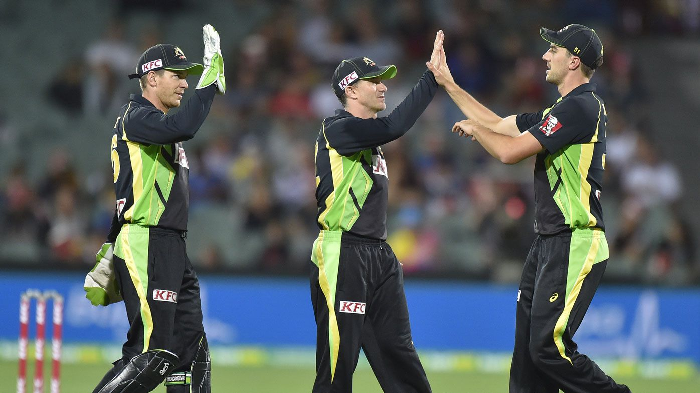 Aussies beat Lanka to avoid T20 whitewash