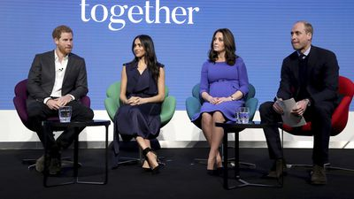 The Sussexes join the Cambridges at Royal Foundation Forum, 28 February 2018