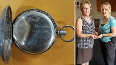 NSW woman reunited with prized keepsake after arrest