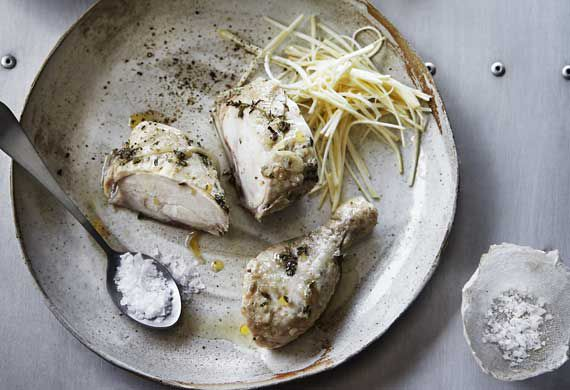 Mark Best's succulent chicken with celeriac remoulade