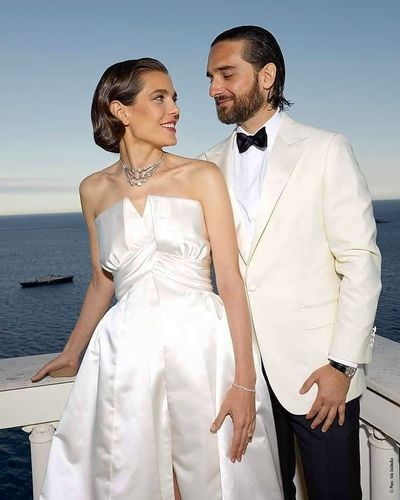 Charlotte Casiraghi and Dimitri Rassam