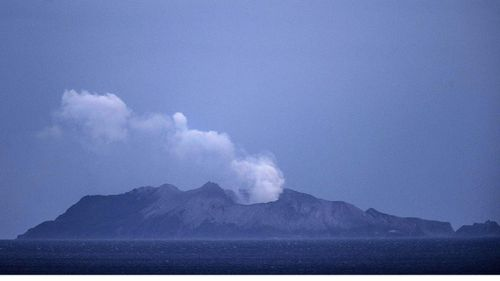 Toxic gas and the risk on another eruption hampered efforts to recover the bodies.