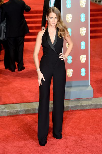 Millie Mackinsoh at the British Academy Film Awards (BAFTAs)