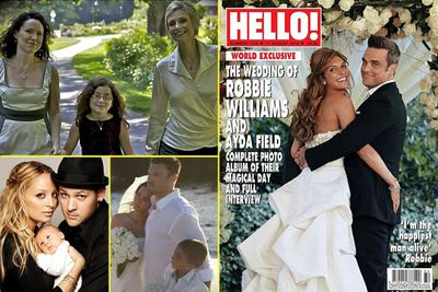 <b>Also married:</b> Nicole Richie & Joel Madden, Orlando Bloom & Miranda Kerr, Anna Paquin & Stephen Moyer, Megan Fox & Brian Austin Green, Jane Lynch & Lara Embry, Penelope Cruz & Javier Bardem, Robbie Williams & Ayda Field, Hilary Duff & Mike Comrie, Isla Fisher & Sacha Baron Cohen, Harrison Ford & Calista Flockhart.