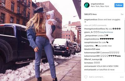 She's a model so it's not surprising that Candice Swanepoel would bounce back so very quickly. She says breastfeeding helped too.
