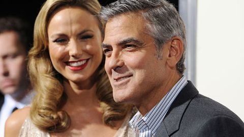 Stacy Keibler in 'love' with George Clooney