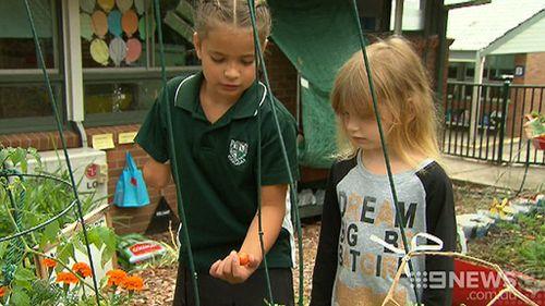 The little girl has inspired her school community. (9NEWS)