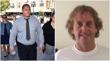 Punch accused dry retched after victim hit by truck, court told