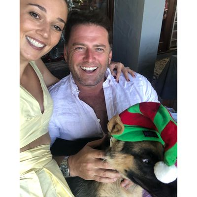 <strong>Karl Stefanovic and Jasmine Yarbrough</strong>