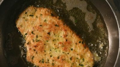 How to make the perfect crumbed coating – from schnitzel to fish fillets