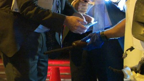 Police seized the firearm for forensic examination.