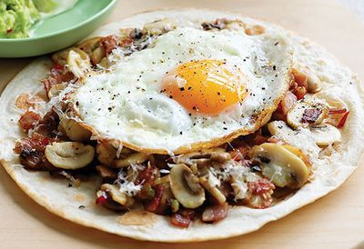 "Recipe:&nbsp;<a href=""/recipes/imushroom/9007729/mushroom-breakfast-tortilla"" target=""_top"" draggable=""false"">Mushroom breakfast tortilla</a>"