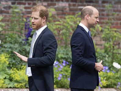 Prince William and Prince Harry rift