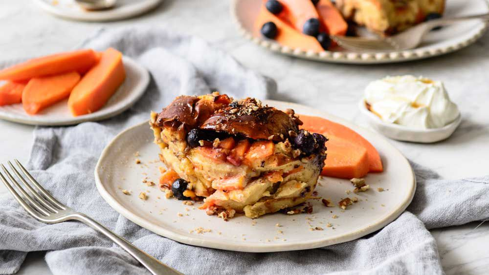 Papaya french toast