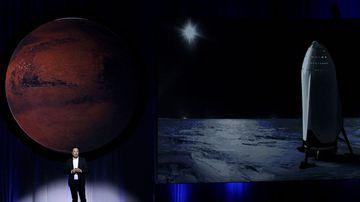 SpaceX Mars Elon Musk