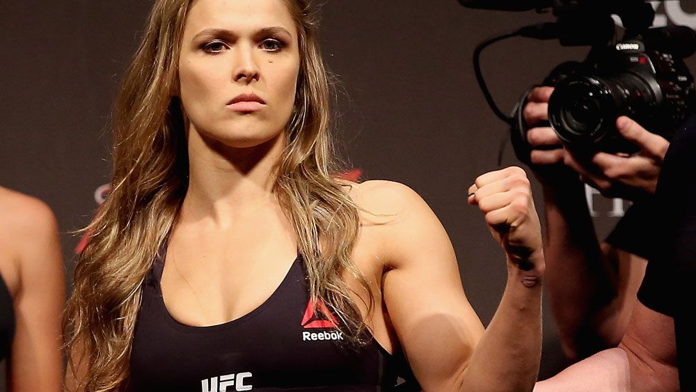 Ronda Rousey will Amanda Nunes in UFC 207. (Getty Images)