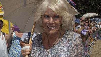Camilla attends the Sandringham Flower Show, July 2018