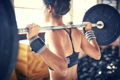 Lifting weights will make you 'bulky'