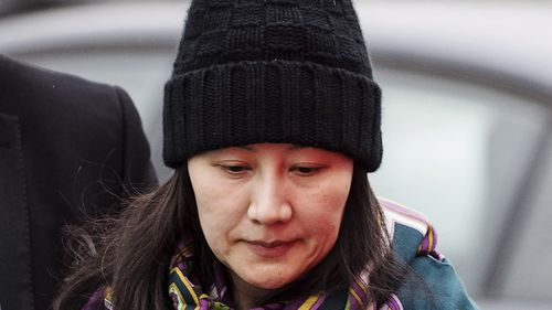 Huawei chief financial officer Meng Wanzhou is detained in Canada.