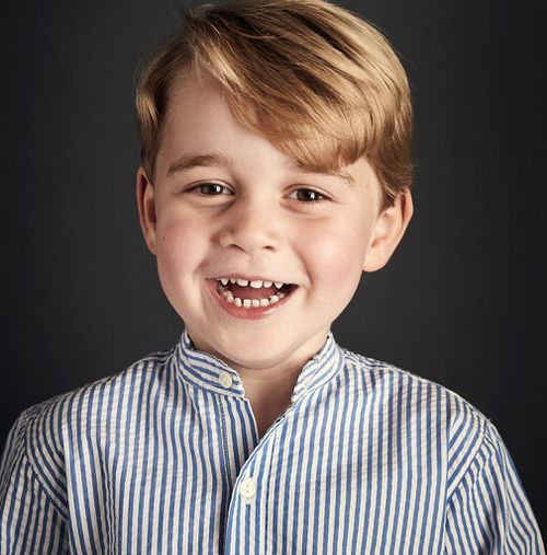 Prince George is four-years-old. (PA/AAP)