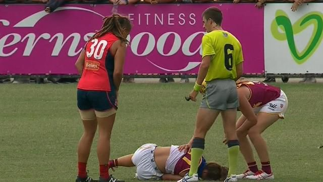 Three AFL women's players charged with rough conduct