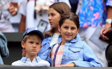 Kate Middleton says Prince George has played tennis with Roger Federer