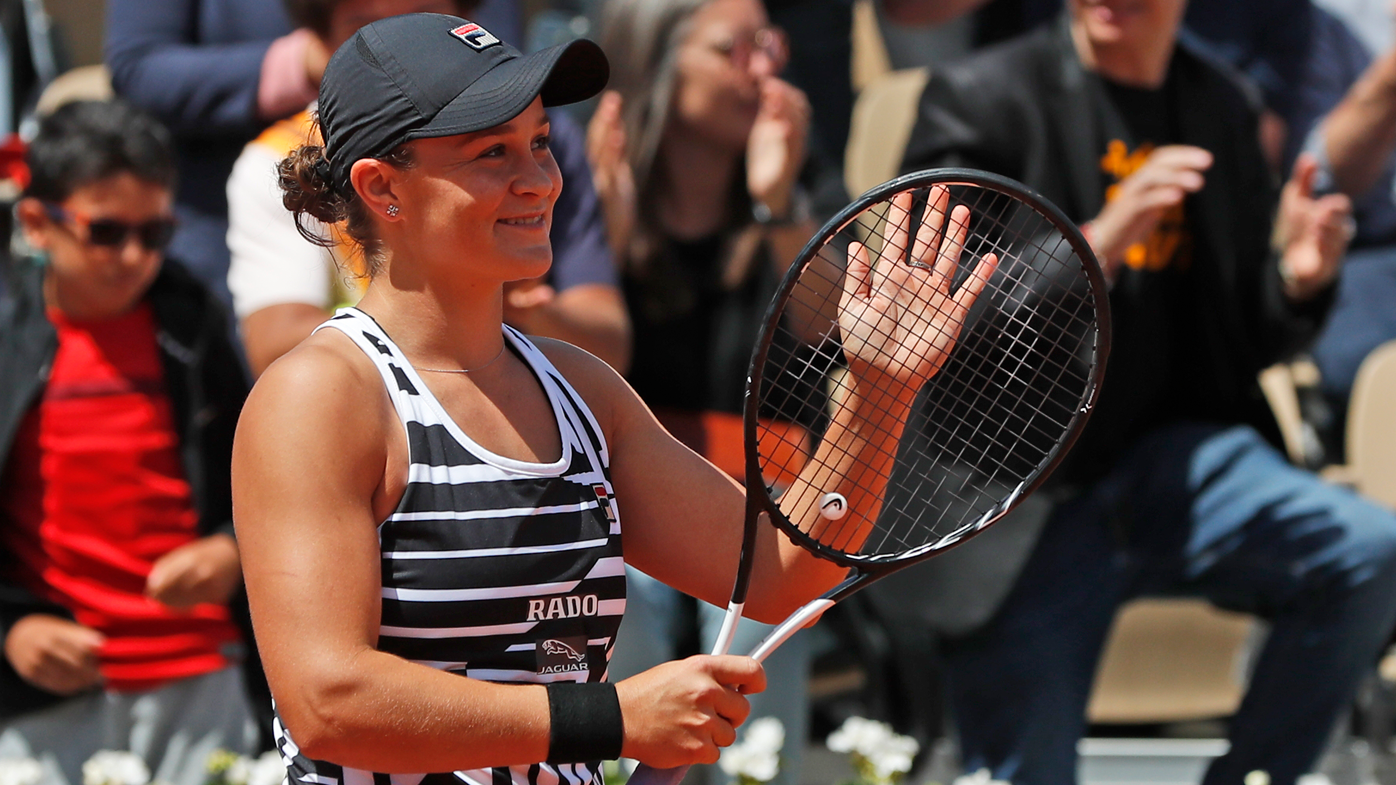 Barty reaches first Grand Slam singles final