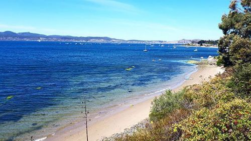 Even Hobart residents will likely want to hit the beach with the city set to reach 31 degrees today (Instagram/katiebug87)