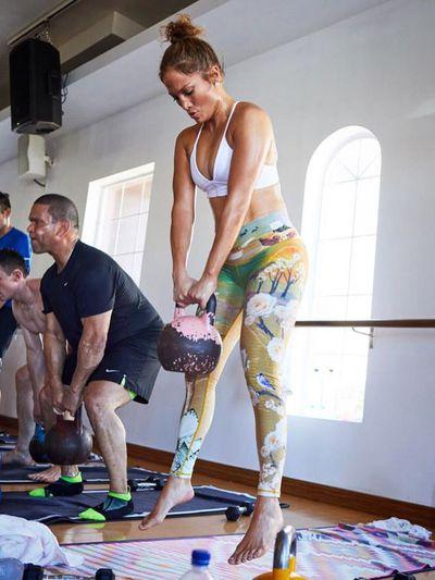 """Jennifer Lopez's activewear collaboration with <a href=""""https://www.niyamasol.com/"""" target=""""_blank"""" title=""""Niyama Sol"""">Niyama Sol</a>"""