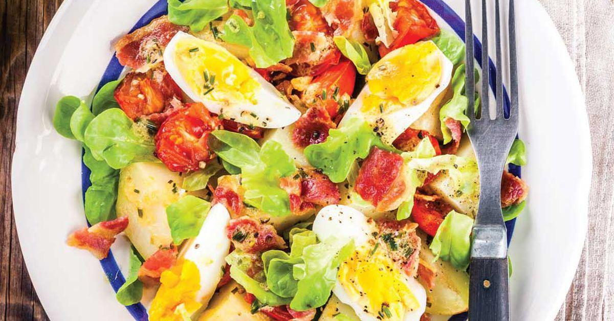 Potato And Egg Salad Recipe Australia