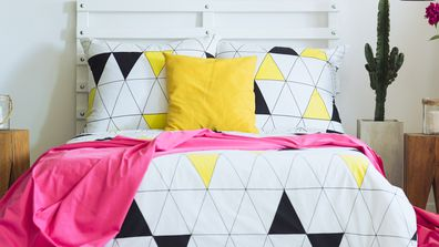 How to bring bold colour into your bedroom styling