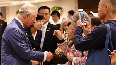 Prince Charles Japan Royal Tour 2