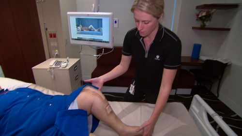 A new app is helping knee reconstruction patients get moving faster.