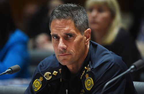 Border Force Commissioner, Roman Quaedvlieg is accused of sending 'salacious' messages to a woman seeking a job. (AAP)