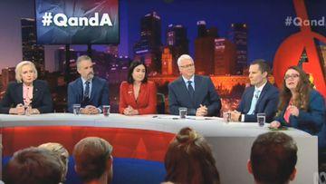 Monday night's Q&A panel.