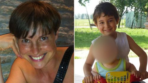 Tiziana Zaramella and her eldest son died at the volcano site. (Facebook)