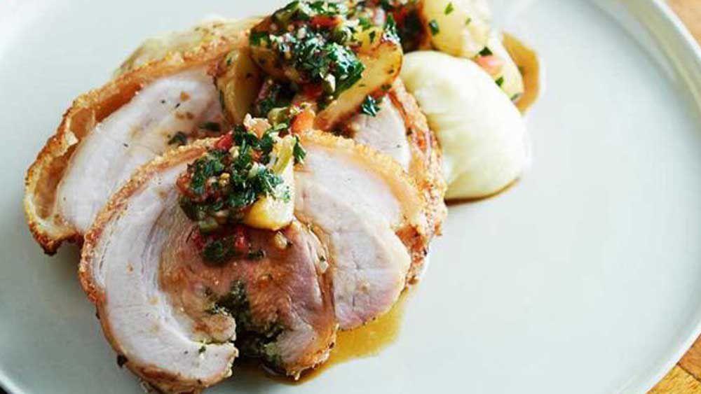 Quick pork roast