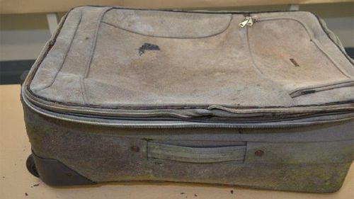Khandalyce's body was found in this suitcase in 2015.