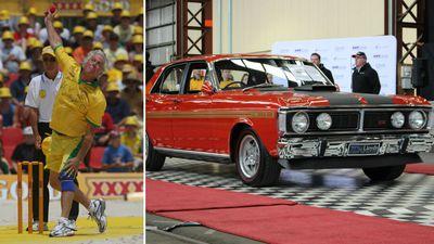 Cricket legend's car cracks $1m at auction