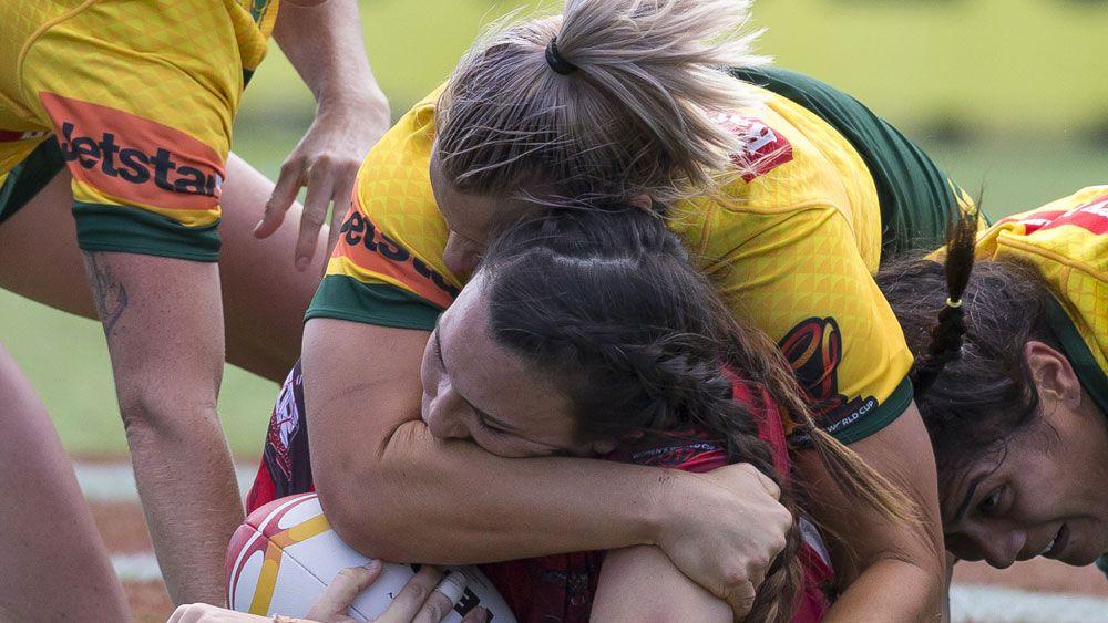 Canada's Haupapa accepts Cup biting ban