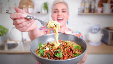 Jane de Graaff's favourite peanut butter and Sichuan pepper noodles