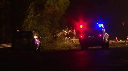 Woman dies after car crashes into tree on Old Hume Highway near Mittagong