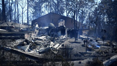 A state government inquiry and an internal RFS investigation has been launched into the causes of the blaze and the nature of firefighters' response to the call. Picture: 9NEWS.